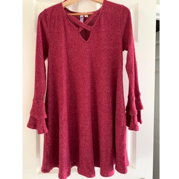 NWOT Francesca's Sweater Dress
